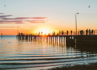 St Kilda Pier in Melbourne, VIC