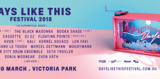 Days Like This festival poster