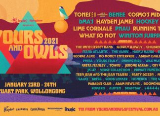 Yours & Owls Festival 2021 LINE UP