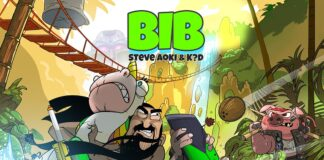 "Steve Aoki & k?d Join Forces on ""BIB"""