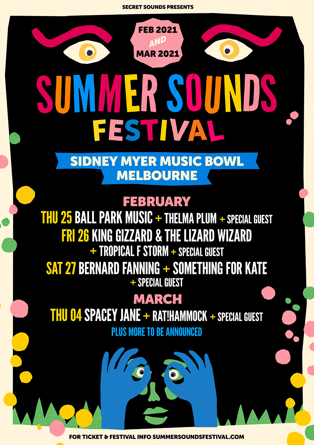 SUMMER SOUNDS FESTIVAL MELBOURNE