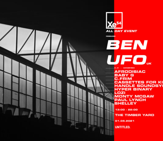 ELECTRONIC MUSIC HUB XE54 IS HOSTING A ONE-OFF DAY PARTY